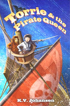 Cover of Torrie and the Pirate-Queen